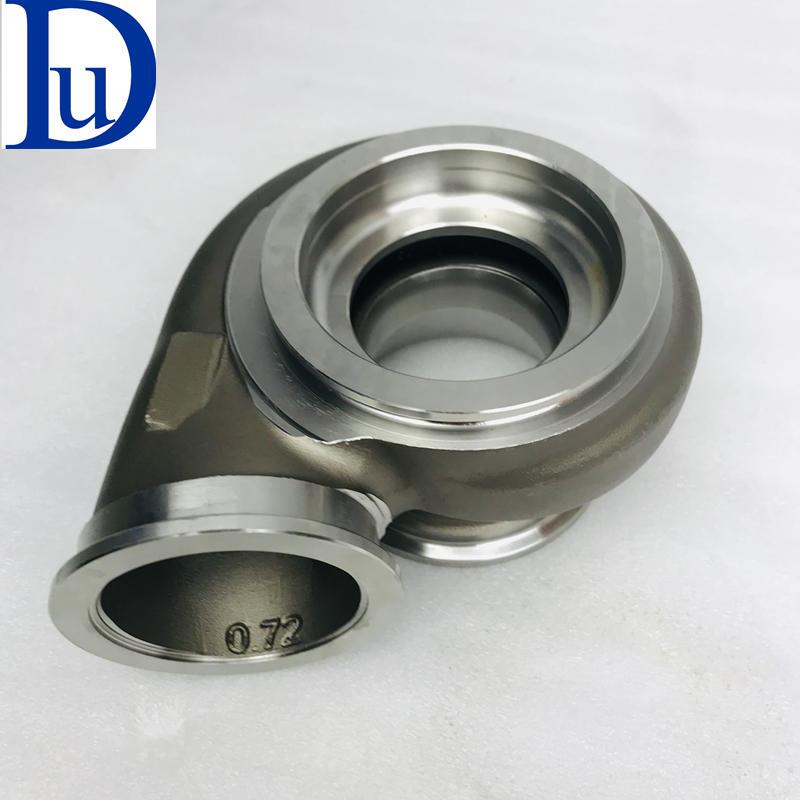 877895-5001S G25 G25-550 dual ball bearing Turbo Turbine housing AR 0.72 V-BAND stainless