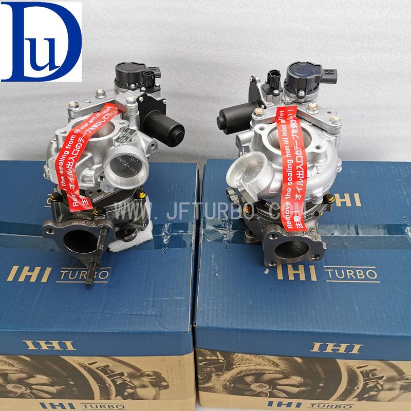 IHI Genuine VB36 VB37 RHV4 17208-51010 17201-51020 twin turbos for Toyota 200 series Land cruiser 1VD-FTV engine