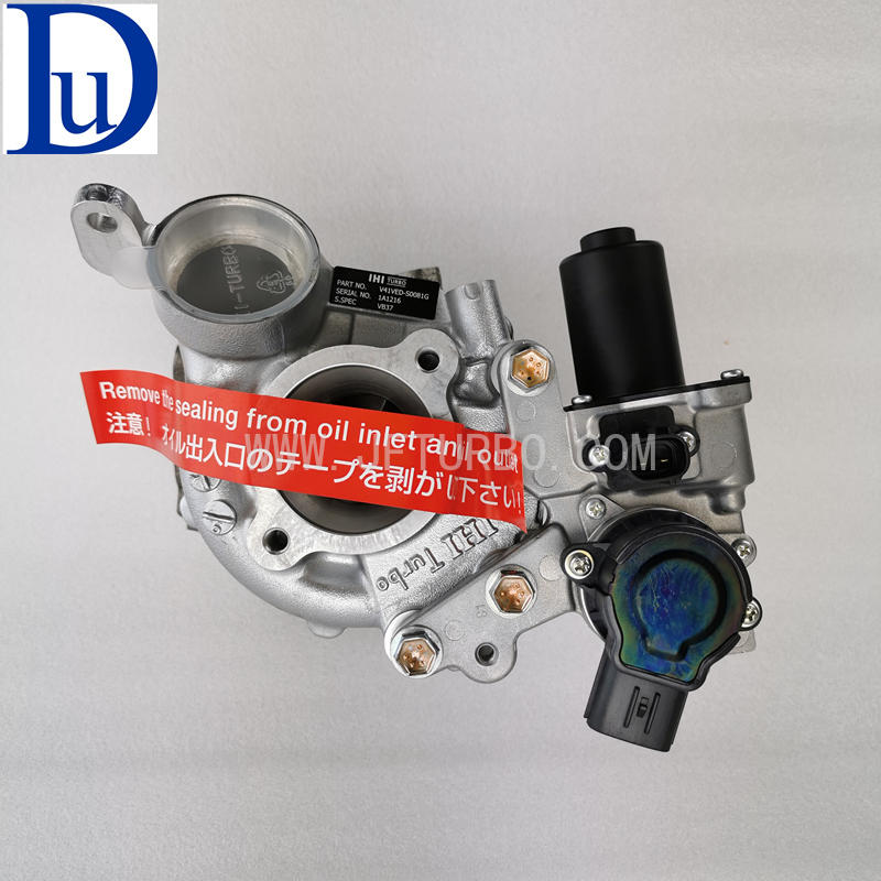IHI Genuine VB23 VB37 RHV4 17208-51010 VAD20027 V8 1VD-FTV engine turbo for Toyota 200 series Land cruiser