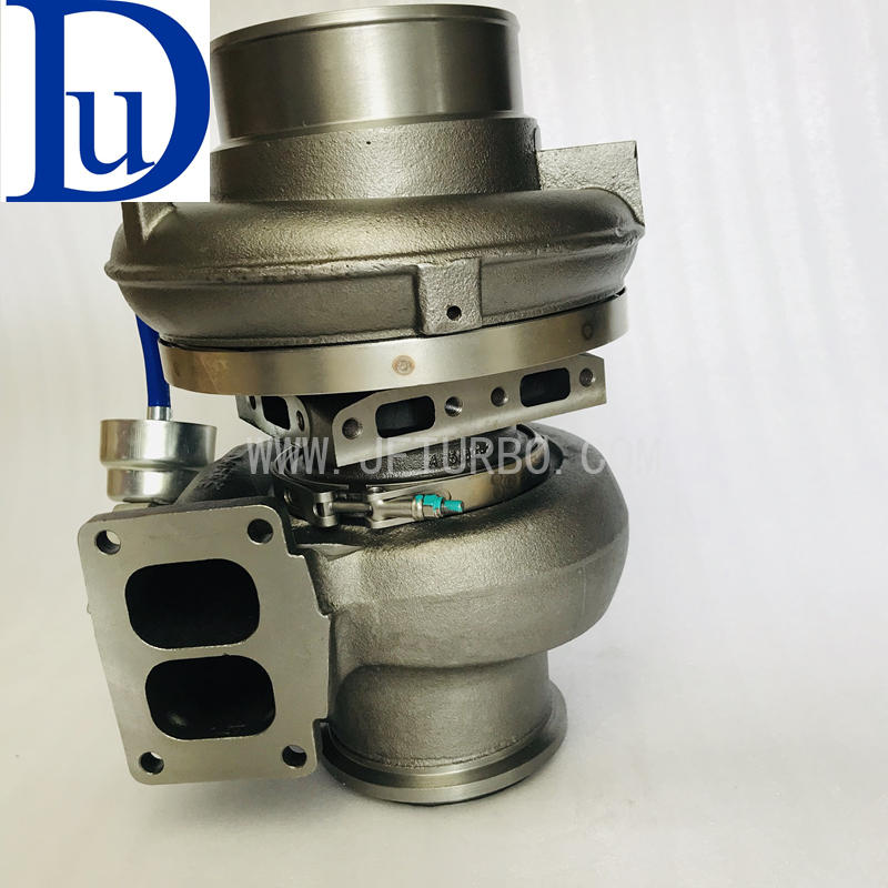 Genuine CAT C18 water cooled turbo GTA5518BLS 296-7632 751286-21 turbo for Caterpillar Wheel-Type Loader 988H Earth moving Compactor Wheel Dozer Machine Engine C18