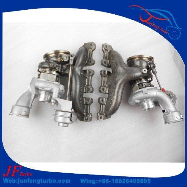 Porsche TD04L turbocharger 49477-05101 49477-05001 3.0T