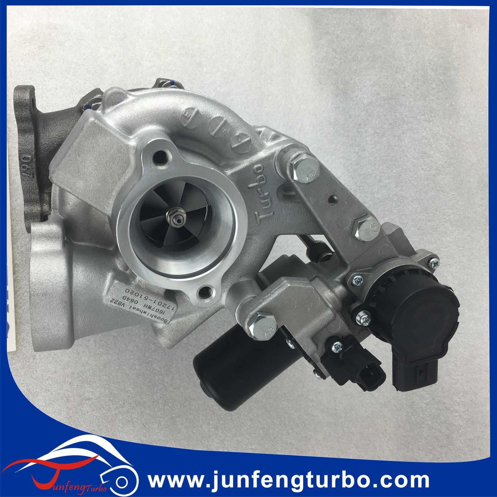 RHV4 Toyota Turbo 17201-51020 1720151020 VB22 engine 1VD-FTV