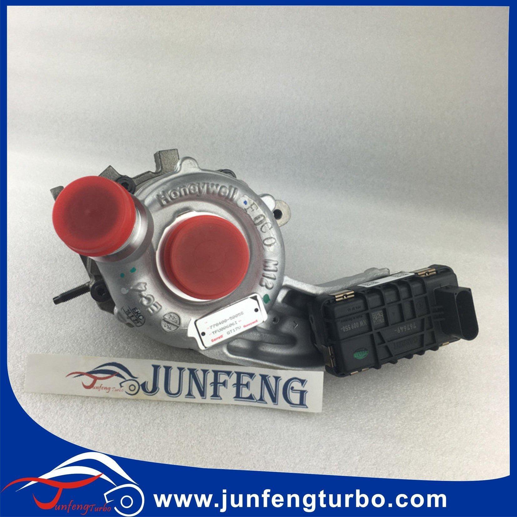 GT17V twin turbo 778400-0005 LR013202 turbocharger 778400-0001