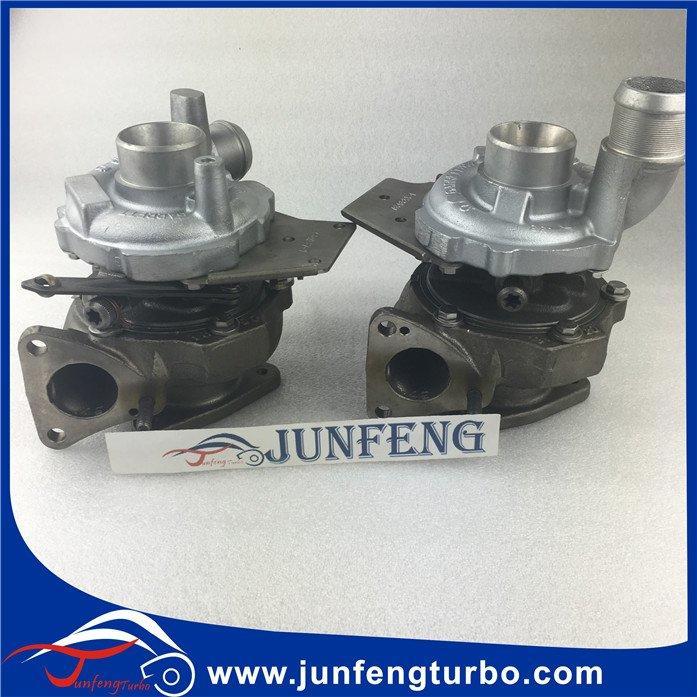 GT1544V twin Turbo 752343-0006 turbocharger 752343-3 726423 Jaguar S-Type